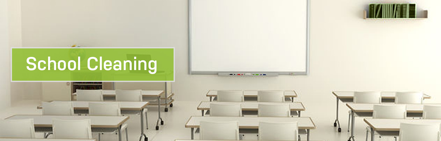 Educational facility cleaning services
