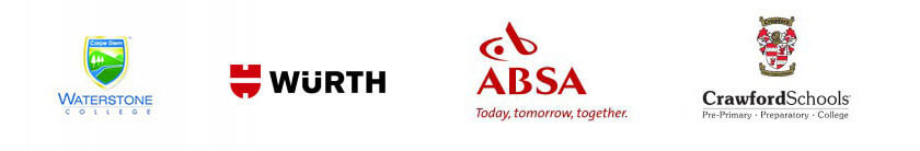 Our clients: ABSA, UTI, Buffalo City, Crawford